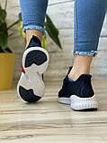 Кросівки жіночі 15654, Adidas AlphaBounce Instinct, темно-сині, [ 36 38 ] р. 36-22,5 див., фото 5