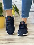 Кросівки жіночі 15654, Adidas AlphaBounce Instinct, темно-сині, [ 36 38 ] р. 36-22,5 див., фото 6