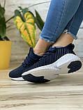 Кросівки жіночі 15654, Adidas AlphaBounce Instinct, темно-сині, [ 36 38 ] р. 36-22,5 див., фото 7