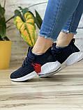 Кросівки жіночі 15654, Adidas AlphaBounce Instinct, темно-сині, [ 36 38 ] р. 36-22,5 див., фото 8
