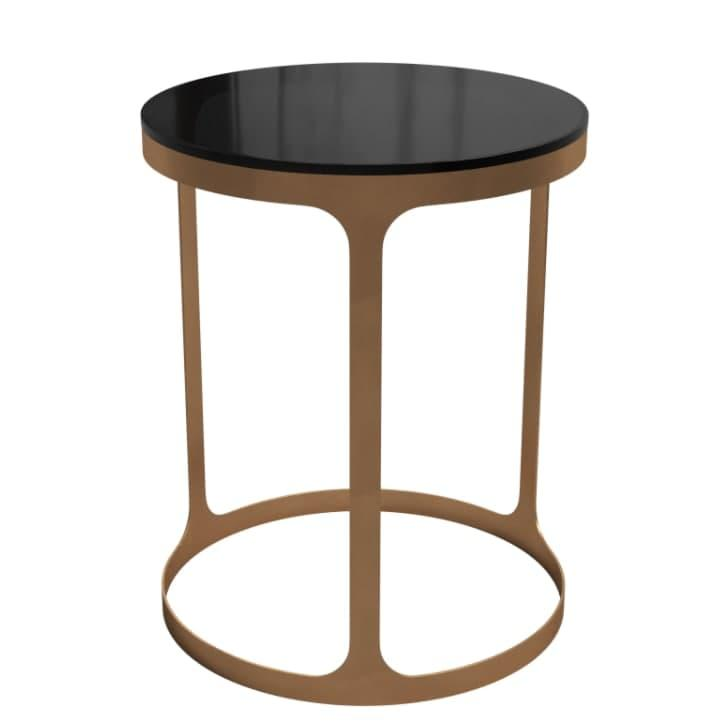 Журнальный столик Area Model B side 400х500 Черный