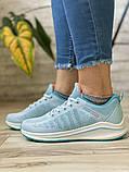 Кросівки жіночі 16504, BaaS Ploa, блакитні, [ 36 37 39 ] р. 36-23,0 див., фото 3