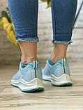 Кросівки жіночі 16504, BaaS Ploa, блакитні, [ 36 37 39 ] р. 36-23,0 див., фото 4