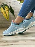 Кросівки жіночі 16504, BaaS Ploa, блакитні, [ 36 37 39 ] р. 36-23,0 див., фото 8