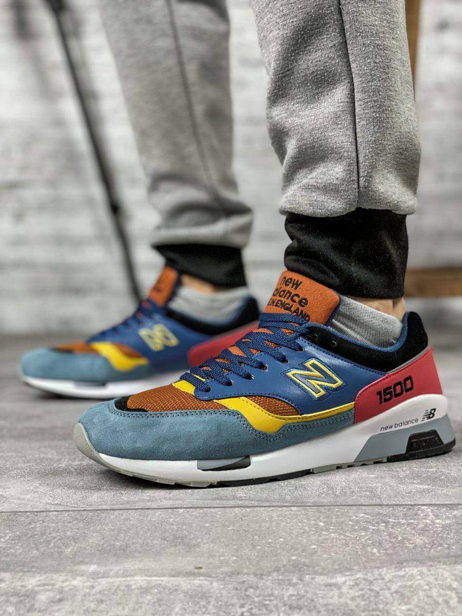 Кросівки чоловічі 16706, New Balance 1500, сині, [ 42 43 ] р. 42-26,5 див.