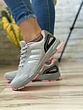 Кроссовки женские 16914, Adidas Marathon Tn, серые [ 36 38 ] р.(36-22,7см), фото 2