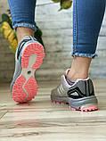 Кроссовки женские 16914, Adidas Marathon Tn, серые [ 36 38 ] р.(36-22,7см), фото 5