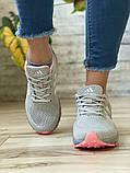 Кроссовки женские 16914, Adidas Marathon Tn, серые [ 36 38 ] р.(36-22,7см), фото 6