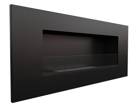 Биокамин Delta2 с стеклом,черный, безопасный вкладыш, фото 2
