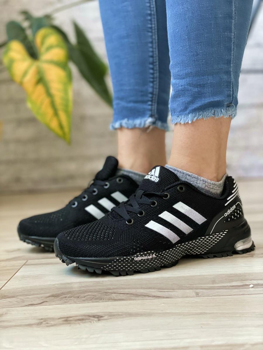 Кросівки жіночі 16917, Adidas Marathon Tn, чорні, [ 36 38 ] р. 36-22,7 див.