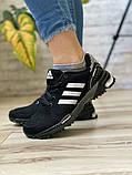 Кросівки жіночі 16917, Adidas Marathon Tn, чорні, [ 36 38 ] р. 36-22,7 див., фото 2