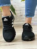 Кросівки жіночі 16917, Adidas Marathon Tn, чорні, [ 36 38 ] р. 36-22,7 див., фото 6
