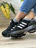 Кросівки жіночі 16917, Adidas Marathon Tn, чорні, [ 36 38 ] р. 36-22,7 див., фото 7
