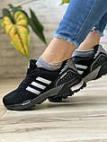 Кросівки жіночі 16917, Adidas Marathon Tn, чорні, [ 36 38 ] р. 36-22,7 див., фото 8