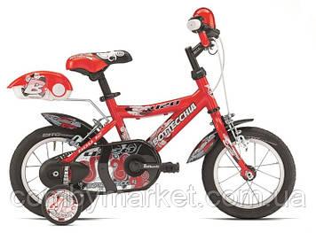 """Детский велосипед Bottecchia 12"""" Boy Coasterbrake от 3 лет красный"""