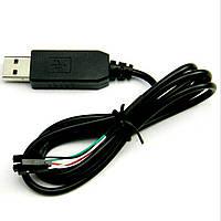 Кабель PL2303HX USB к UART TTL 4pin