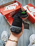 Жіночі кросівки Nike Air Zoom Spiridon Caged Stussy (чорні) кроси в сіточку 671GL, фото 3