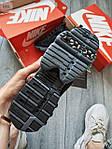 Жіночі кросівки Nike Air Zoom Spiridon Caged Stussy (чорні) кроси в сіточку 671GL, фото 5