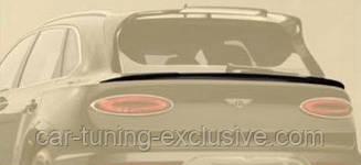 MANSORY rear decklid spoiler for Bentley Bentayga