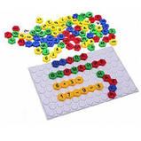Развивающая игра мозаика азбука для самых маленьких малышей Технок с русскими буквами и цифрами 2087, фото 6