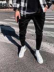 Чоловічі штани молодіжні (сині) якісні завужені донизу s192, фото 2