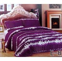 Покрывало евро-размера East Comfort - фиолетового цвета