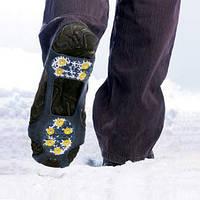 Противоскользящие накладки на обувь Ледоступы (10 шипов) Льодоход L 39-46 Льодоступ Универсальные, фото 1