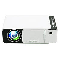 Проектор Everycom LED T5 WiFi 2600 люмен, домашний WiFi видеопроектор 5bit