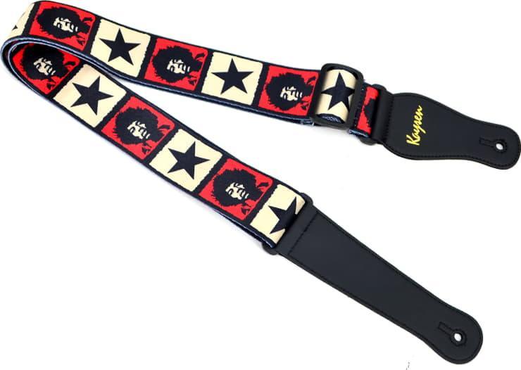 Гітарний ремінь Kaysen RS-G07 Jimi Hendrix