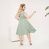 Красивое платье женское Софт Размер 48 50 52 54 56 58 60 62 В наличии 4 цвета, фото 4