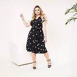 Красивое платье женское Софт Размер 48 50 52 54 56 58 60 62 В наличии 4 цвета, фото 5