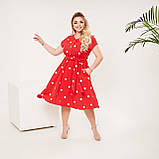 Красивое платье женское Софт Размер 48 50 52 54 56 58 60 62 В наличии 4 цвета, фото 7
