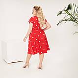 Красивое платье женское Софт Размер 48 50 52 54 56 58 60 62 В наличии 4 цвета, фото 8