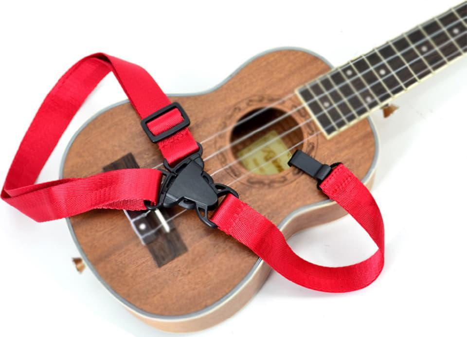 Ремінь для укулеле Kaysen RS-U01 RD