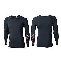 Компрессионная спортивная футболка с длинным рукавом - термо 2XU (Артикул: артикул: MA3021a)