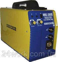 Зварювальний інвертор-напівавтомат Becker MIG 280