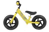 Велобег детский с регулируемым рулем MARS 12 желтый