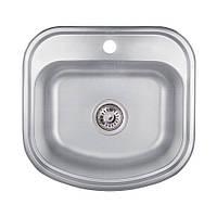 Кухонная мойка Lidz 4749 Decor 0,8 мм (LIDZ4749DEC)