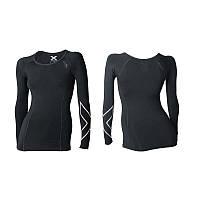 Компрессионная спортивная футболка с длинным рукавом - термо 2XU (Артикул: артикул: WA3022a)
