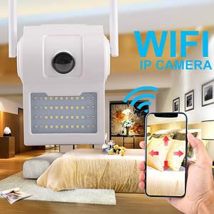 Уличная настенная IP WI FI камера видеонаблюдения светильник D2 - 2 mp