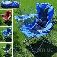 """Кресло складное для рыбалки и туризма """"Вояж"""" d19 мм, синее"""