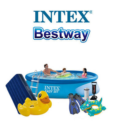 Товари Intex і Bestway