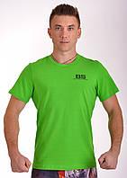 Спортивная мужская футболка 100% хлопок Berserk Sport зеленый