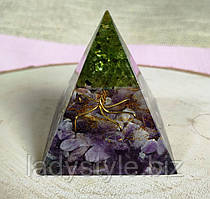 Піраміда - гармонізатор з натуральними каменями від студії www.LadyStyle.Biz
