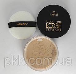 Пудра для лица расcыпчастая Malva Cosmetics Silky Fine PM2503 № 02 Rose Vanilla