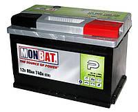 Автомобильная стартерная батарея Monbat 6СТ-80 580 70 04 SMF R+