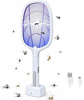 Ракетка мухобойка электрическая Mosqueto rocket
