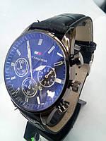Чоловічий наручний годинник Hil з датою на ремінці