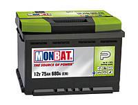 Автомобильная стартерная батарея Monbat 6СТ-100 600 70 02 SMF L+