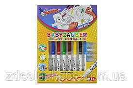 Фломастери Malinos змиваються для малюків Babyzauber з розфарбуванням, 10 шт SKL17-149644